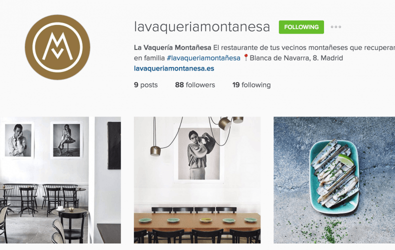 Instagram Business Case La Vaquería Montañesa