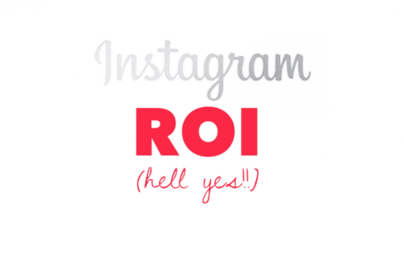 Instagram ROI. The Science and The Art